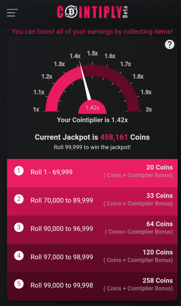 Cointiply hourly roll faucet claimer