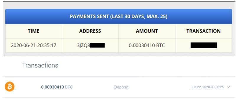 FreeBitco.in Payment Proof 6-21-2020