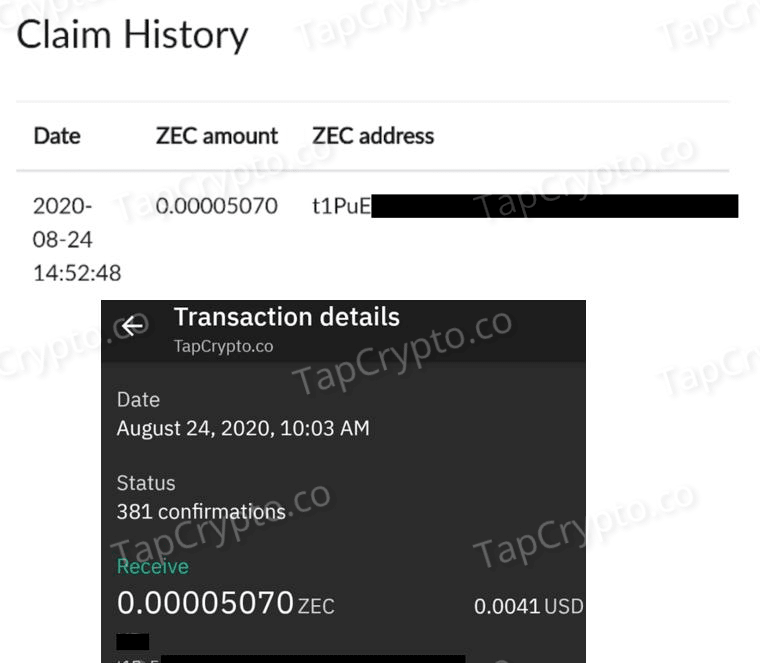 GlobalHive Payment Proof 08-24-2020