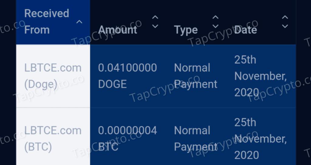 LBTCE Payment Proof 11-25-2020