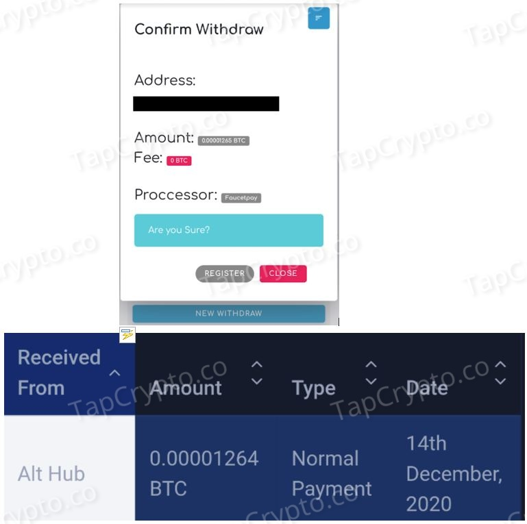 AltHub Litecoin Payment Proof 12-14-2020