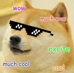 Excited Doge Meme
